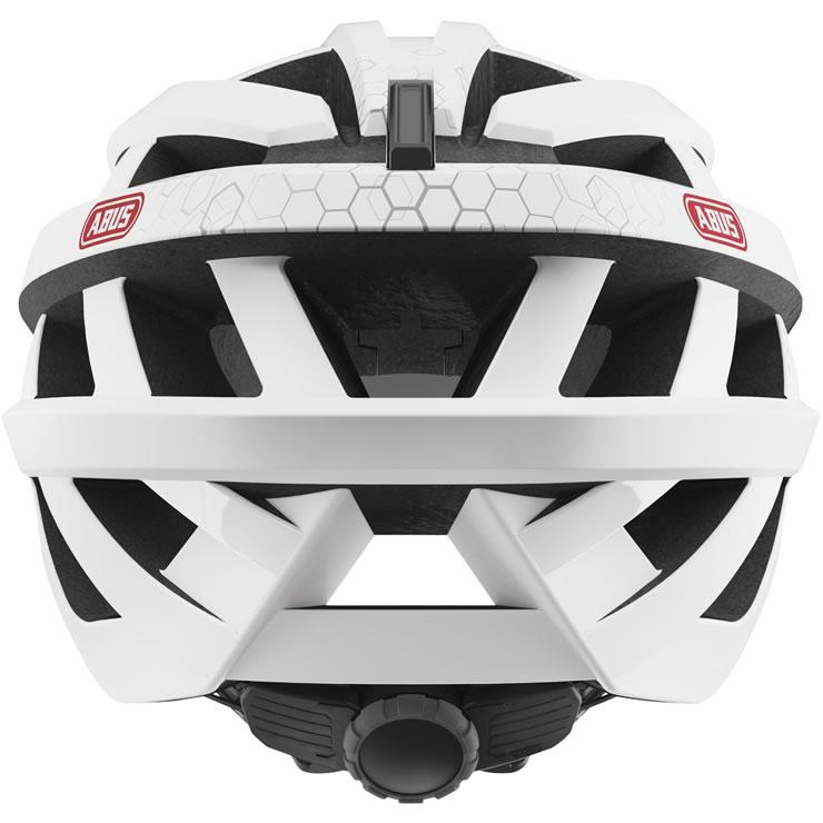capacete abus in vizz ascent polar matt ciclo leiriense. Black Bedroom Furniture Sets. Home Design Ideas