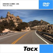 DVD TACX ARIZONA CLIMBS – USA