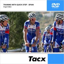 DVD TACX TRAINING WITH QUICK STEP – ES