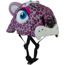 CAPACETE CRAZY SAFETY LEOPARD ROSA