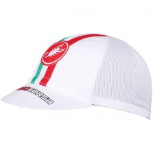 BONÉ CASTELLI PERFORMANCE CYCLING BRANCO