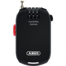CADEADO ABUS 2501/65 SEGREDO COM C/ COMBIFLEX