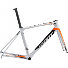QUADRO GIANT TCR ADVANCED PRO BRANCO PEROLA